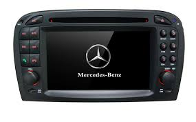 | Mercedes SL radio navigatie bluetooth android 8 dab+ 32gb